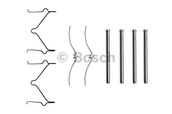Kit d'accessoires, plaquette de frein à disque - BOSCH - 1 987 474 208