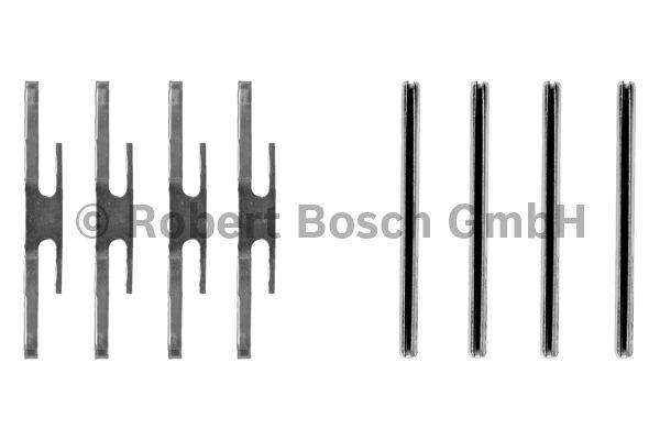 Kit d'accessoires, plaquette de frein à disque - BOSCH - 1 987 474 210