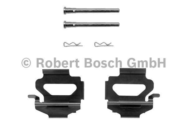 Kit d'accessoires, plaquette de frein à disque - BOSCH - 1 987 474 211