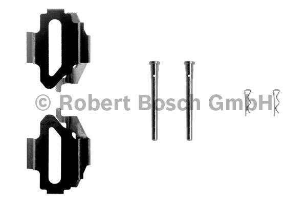 Kit d'accessoires, plaquette de frein à disque - BOSCH - 1 987 474 212