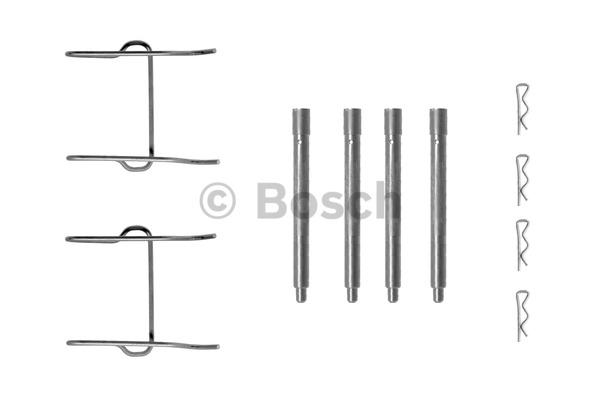 Kit d'accessoires, plaquette de frein à disque - BOSCH - 1 987 474 223