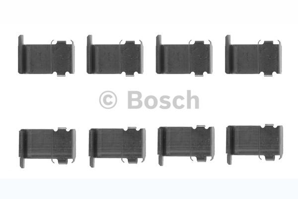 Kit d'accessoires, plaquette de frein à disque - BOSCH - 1 987 474 232
