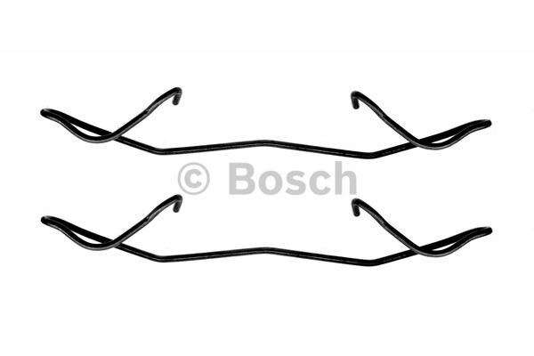 Kit d'accessoires, plaquette de frein à disque - BOSCH - 1 987 474 241