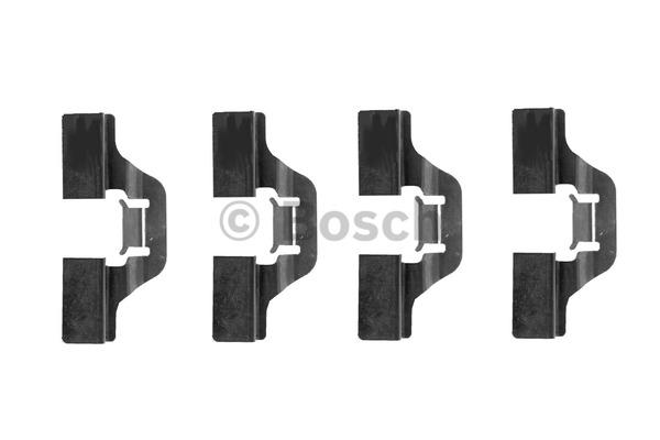 Kit d'accessoires, plaquette de frein à disque - BOSCH - 1 987 474 253