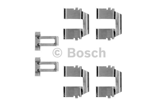 Kit d'accessoires, plaquette de frein à disque - BOSCH - 1 987 474 264