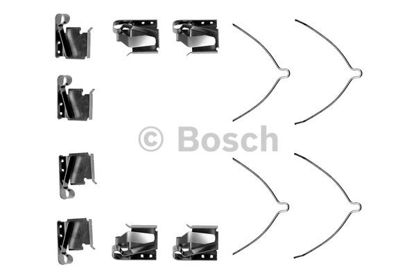 Kit d'accessoires, plaquette de frein à disque - BOSCH - 1 987 474 279