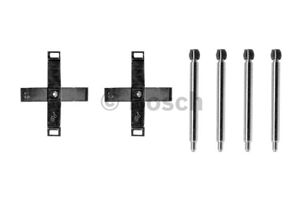 Kit d'accessoires, plaquette de frein à disque - BOSCH - 1 987 474 307