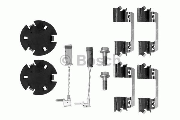 Kit d'accessoires, plaquette de frein à disque - BOSCH - 1 987 474 308