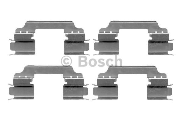 Kit d'accessoires, plaquette de frein à disque - BOSCH - 1 987 474 310