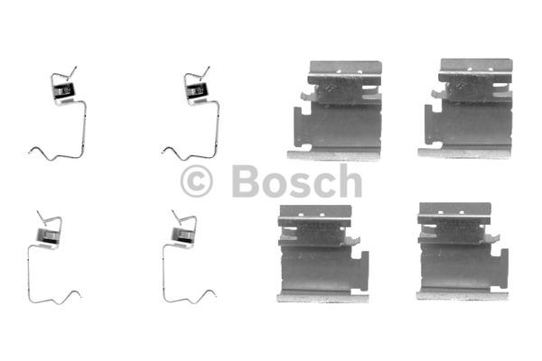 Kit d'accessoires, plaquette de frein à disque - BOSCH - 1 987 474 311