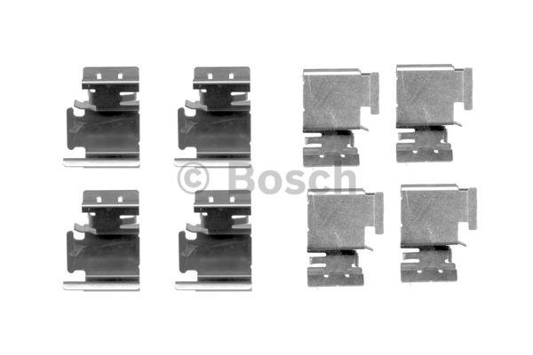 Kit d'accessoires, plaquette de frein à disque - BOSCH - 1 987 474 312
