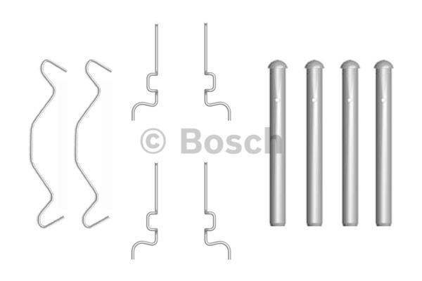 Kit d'accessoires, plaquette de frein à disque - BOSCH - 1 987 474 313