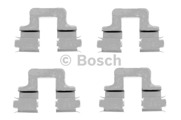 Kit d'accessoires, plaquette de frein à disque - BOSCH - 1 987 474 314