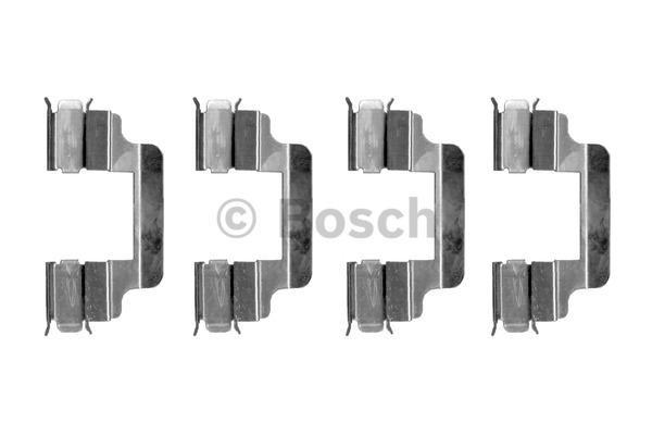 Kit d'accessoires, plaquette de frein à disque - BOSCH - 1 987 474 315