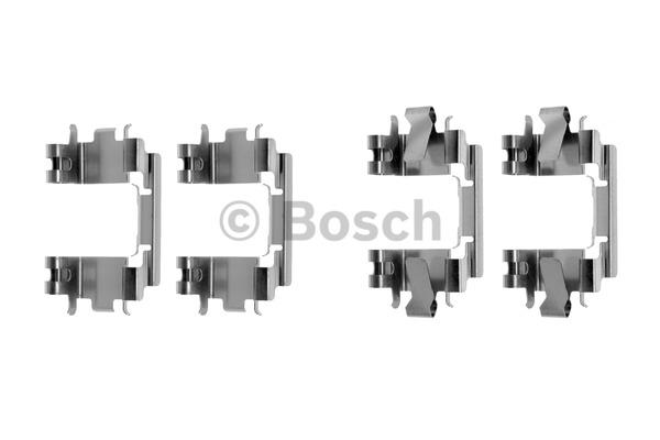 Kit d'accessoires, plaquette de frein à disque - BOSCH - 1 987 474 318