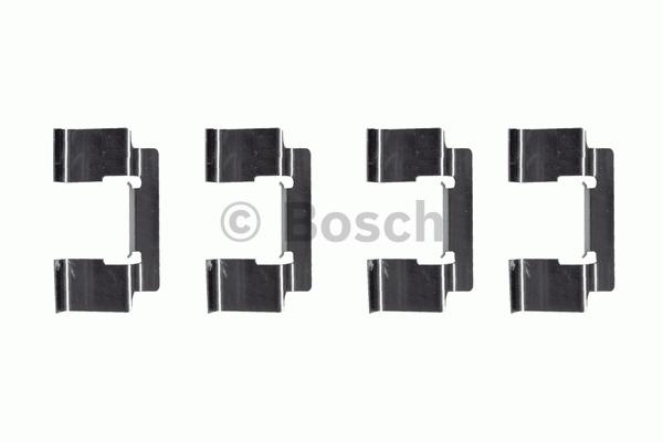 Kit d'accessoires, plaquette de frein à disque - BOSCH - 1 987 474 319