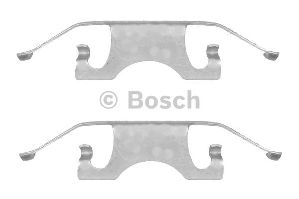 Kit d'accessoires, plaquette de frein à disque - BOSCH - 1 987 474 323