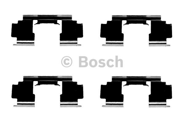 Kit d'accessoires, plaquette de frein à disque - BOSCH - 1 987 474 324
