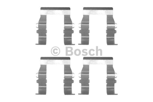 Kit d'accessoires, plaquette de frein à disque - BOSCH - 1 987 474 325