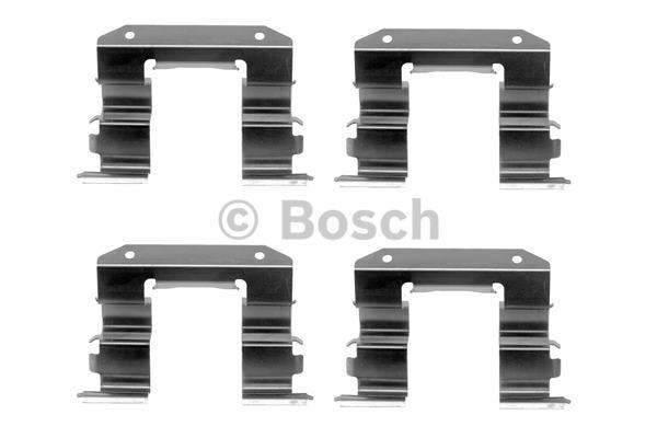 Kit d'accessoires, plaquette de frein à disque - BOSCH - 1 987 474 327