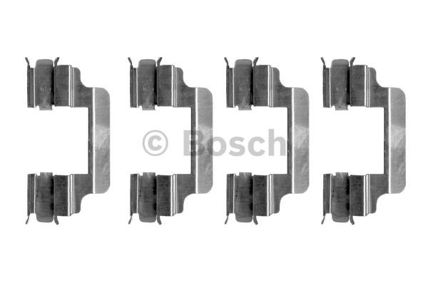 Kit d'accessoires, plaquette de frein à disque - BOSCH - 1 987 474 328