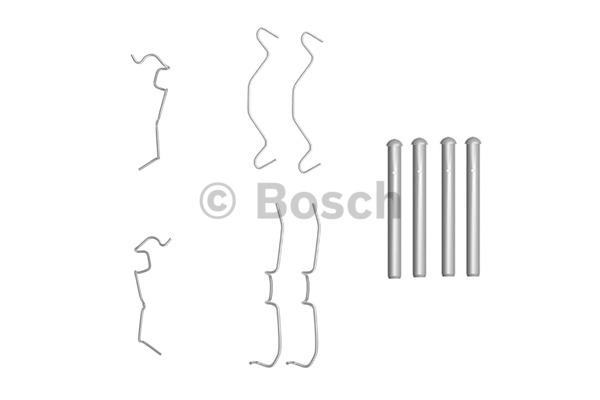 Kit d'accessoires, plaquette de frein à disque - BOSCH - 1 987 474 331
