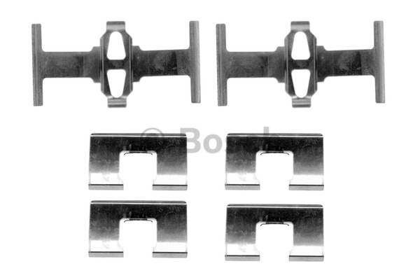 Kit d'accessoires, plaquette de frein à disque - BOSCH - 1 987 474 332