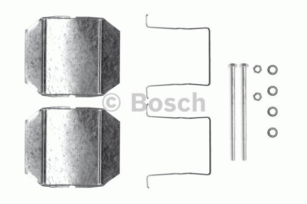 Kit d'accessoires, plaquette de frein à disque - BOSCH - 1 987 474 333