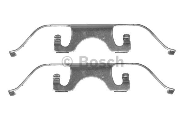 Kit d'accessoires, plaquette de frein à disque - BOSCH - 1 987 474 334
