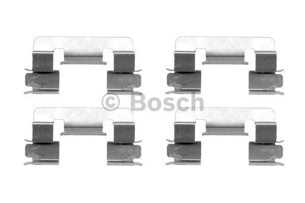 Kit d'accessoires, plaquette de frein à disque - BOSCH - 1 987 474 335