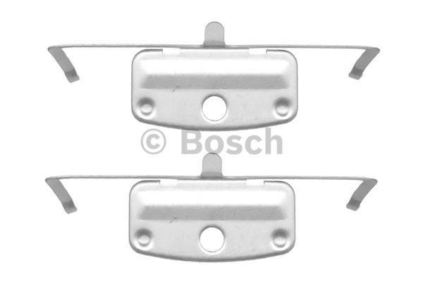 Kit d'accessoires, plaquette de frein à disque - BOSCH - 1 987 474 336
