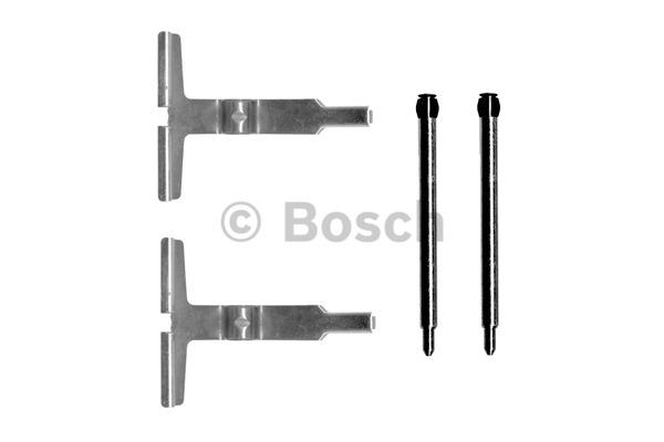 Kit d'accessoires, plaquette de frein à disque - BOSCH - 1 987 474 340