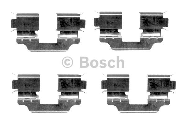Kit d'accessoires, plaquette de frein à disque - BOSCH - 1 987 474 341