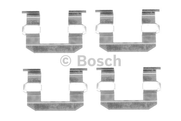 Kit d'accessoires, plaquette de frein à disque - BOSCH - 1 987 474 344
