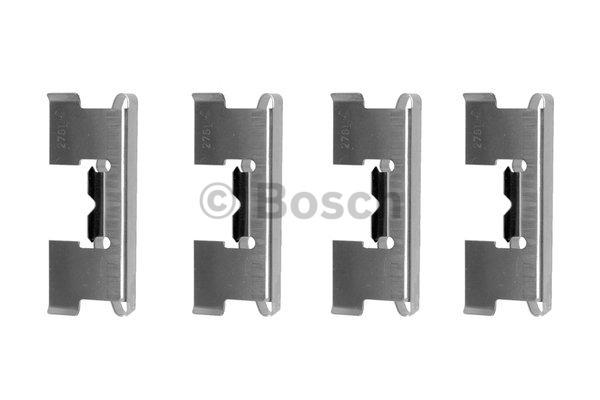 Kit d'accessoires, plaquette de frein à disque - BOSCH - 1 987 474 346