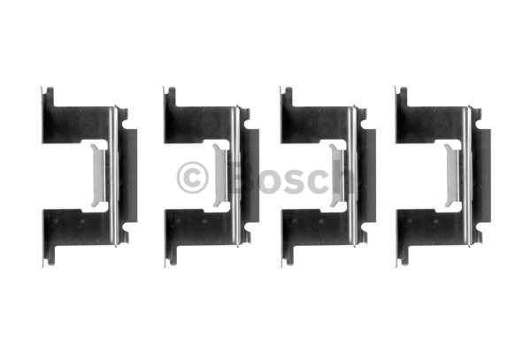 Kit d'accessoires, plaquette de frein à disque - BOSCH - 1 987 474 347