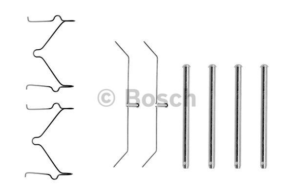 Kit d'accessoires, plaquette de frein à disque - BOSCH - 1 987 474 350
