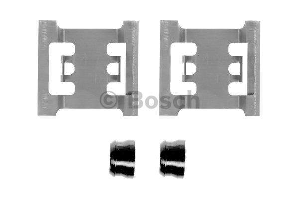 Kit d'accessoires, plaquette de frein à disque - BOSCH - 1 987 474 352