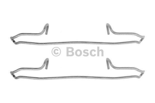 Kit d'accessoires, plaquette de frein à disque - BOSCH - 1 987 474 354
