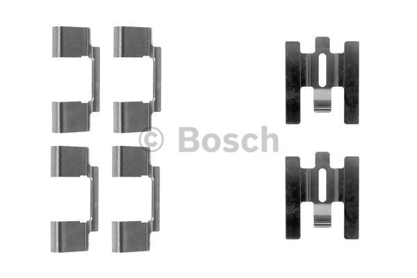 Kit d'accessoires, plaquette de frein à disque - BOSCH - 1 987 474 355