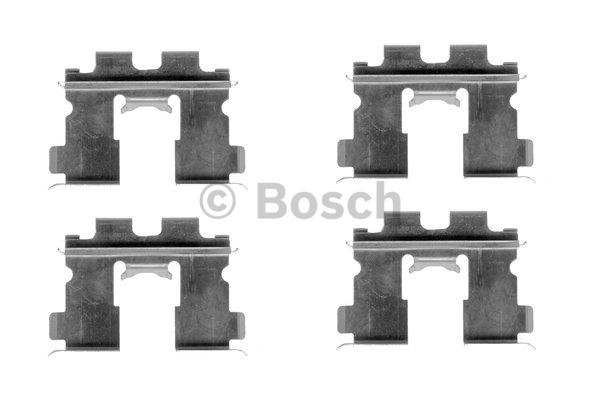 Kit d'accessoires, plaquette de frein à disque - BOSCH - 1 987 474 356