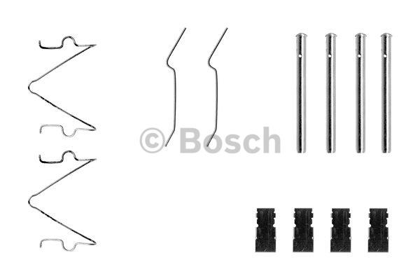 Kit d'accessoires, plaquette de frein à disque - BOSCH - 1 987 474 358