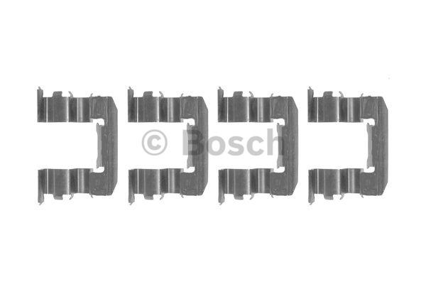 Kit d'accessoires, plaquette de frein à disque - BOSCH - 1 987 474 361