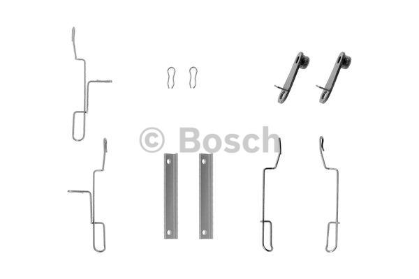 Kit d'accessoires, plaquette de frein à disque - BOSCH - 1 987 474 362