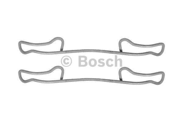 Kit d'accessoires, plaquette de frein à disque - BOSCH - 1 987 474 365
