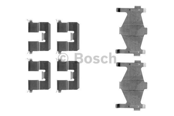 Kit d'accessoires, plaquette de frein à disque - BOSCH - 1 987 474 368