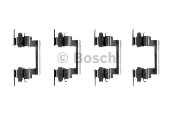 Kit d'accessoires, plaquette de frein à disque - BOSCH - 1 987 474 377
