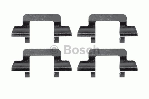 Kit d'accessoires, plaquette de frein à disque - BOSCH - 1 987 474 380