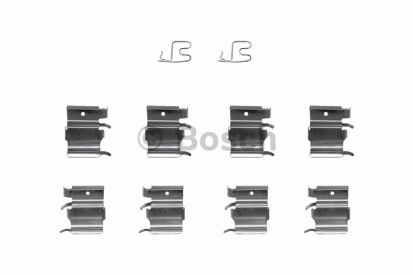 Kit d'accessoires, plaquette de frein à disque - BOSCH - 1 987 474 381