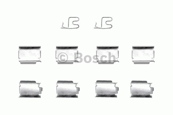 Kit d'accessoires, plaquette de frein à disque - BOSCH - 1 987 474 382